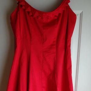 Red Summer Dress by Nine West, Size 2
